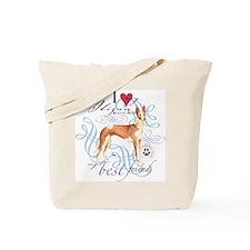 Ibizan Hound Tote Bag