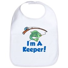 Im A Keeper Fish Bib