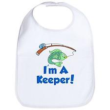 Im A Keeper Fish Bib