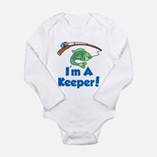 Im A Keeper Fish Body Suit