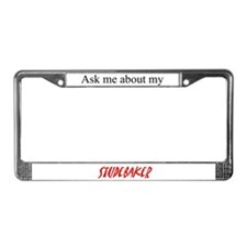 Ask Me About My Studebaker License Plate Frame