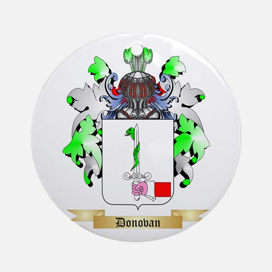 Donovan Ornament (Round)