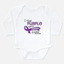 I Wear Purple 42 Lupus Infant Bodysuit Body Suit