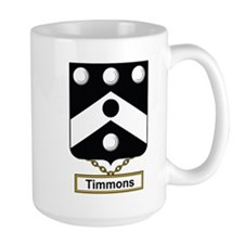 Timmons Family Crest Mugs