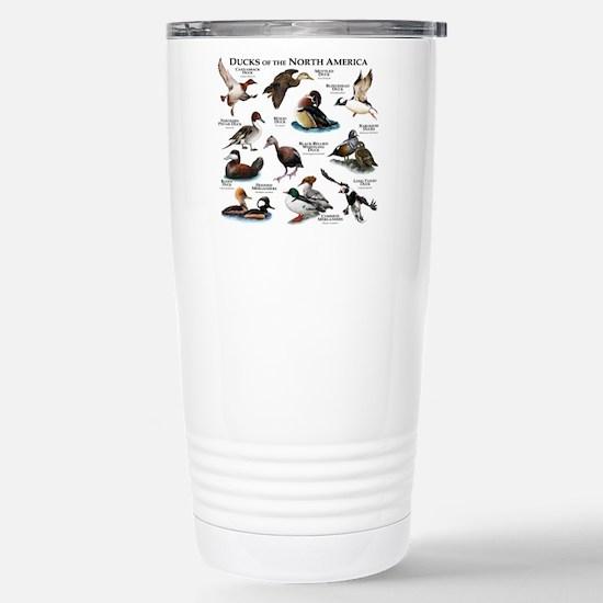 Ducks of North America Stainless Steel Travel Mug