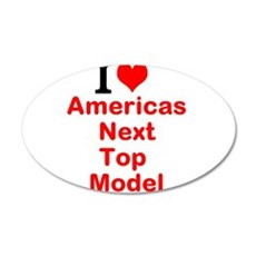 I Love Americas Next Top Model Wall Decal