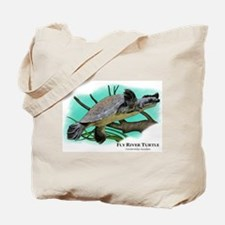 Fly River Turtle Tote Bag
