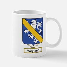 Weyland Family Crest Mugs