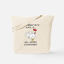 Cute Add chicken Tote Bag