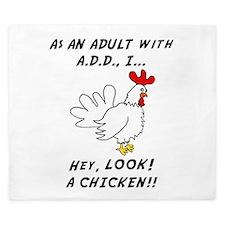 Unique Add chicken King Duvet