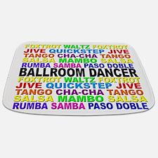 Ballroom Words Bathmat