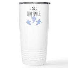 I See Dead Pixels Travel Mug