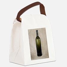 Vintage Glass Bottle Canvas Lunch Bag