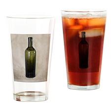 Vintage Glass Bottle Drinking Glass