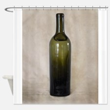 Vintage Glass Bottle Shower Curtain