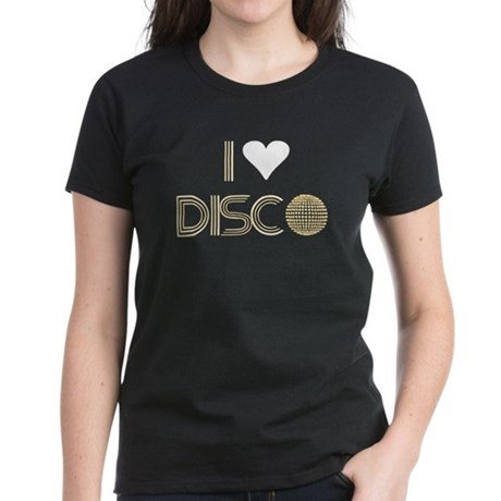 I LOVE DISCO T-SHIRT DISCO CL Women's Dark T-Shirt