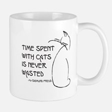 time with cats Mugs