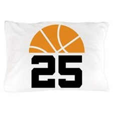 Basketball Number 25 Player Gift Pillow Case