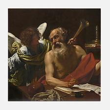 Saint Jerome and the Angel Tile Coaster