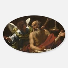Saint Jerome and the Angel Decal