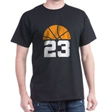 Basketball Number 23 Player Gift T-Shirt