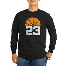 Basketball Number 23 Player Gift T