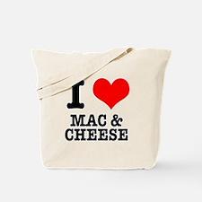 I Heart (Love) Mac & Cheese Tote Bag