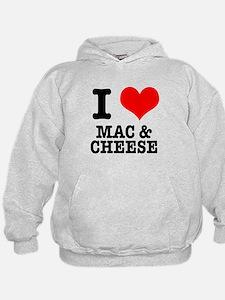 I Heart (Love) Mac & Cheese Hoodie