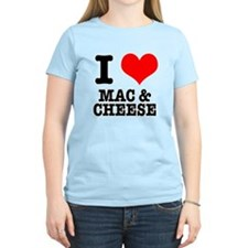 I Heart (Love) Mac & Cheese T-Shirt