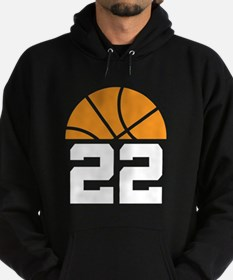 Basketball Number 22 Player Gift Hoodie