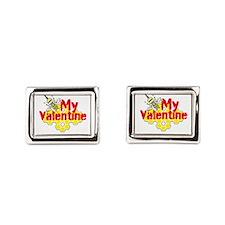 Bee My Valentine Cufflinks