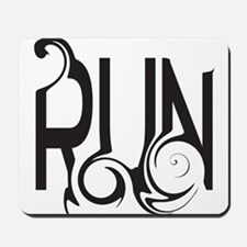 Unique RUN Mousepad
