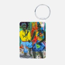 After the work, Afro-Ameri Keychains