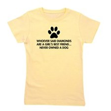 Girl's Best Friend Dog Girl's Tee
