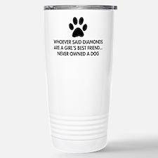 Girl's Best Friend Dog Travel Mug
