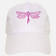 Breast Cancer Dragonfly Baseball Baseball Cap