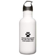 Girl's Best Friend Dog Water Bottle