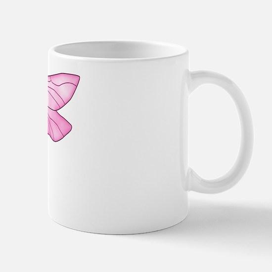 Breast Cancer Dragonfly Mug