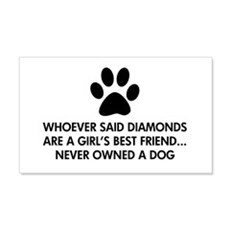 Girl's Best Friend Dog Wall Sticker