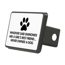 Girl's Best Friend Dog Hitch Cover