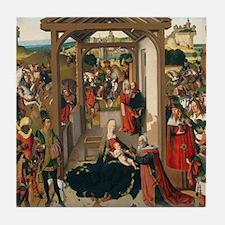 The Adoration of the Magi Tile Coaster