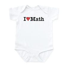 I Love Math Infant Bodysuit