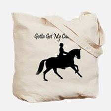 Dressage Canter On Tote Bag