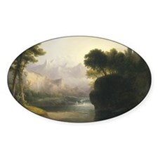 Fanciful Landscape Decal