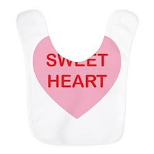 Sweet Heart - Candy Heart Bib