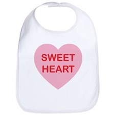 Sweet Heart - Candy Heart Bib