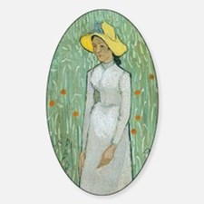 Vincent Van Gogh - Girl in White Decal