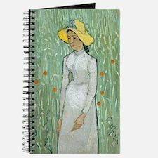 Vincent Van Gogh - Girl in White Journal