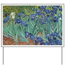 Vincent van Gogh - Irises Yard Sign