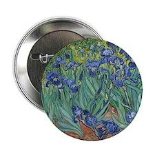 """Vincent van Gogh - Irises 2.25"""" Button"""